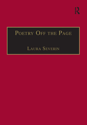 Poetry Off the Page Twentieth-Century British Women Poets in Performance book cover