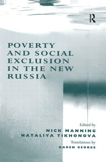 Poverty and Social Exclusion in the New Russia book cover
