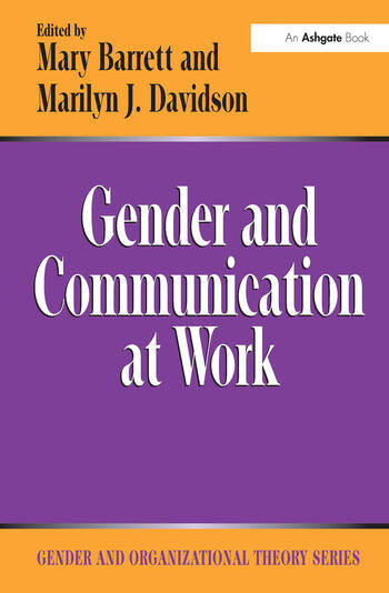 Gender and Communication at Work book cover