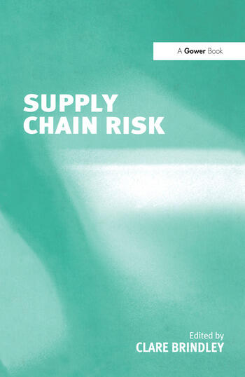 Supply Chain Risk book cover