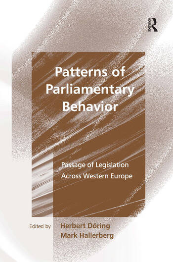 Patterns of Parliamentary Behavior Passage of Legislation Across Western Europe book cover