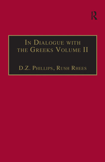 In Dialogue with the Greeks Volume II: Plato and Dialectic book cover