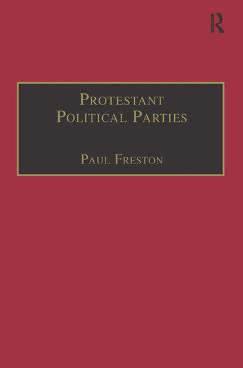Protestant Political Parties A Global Survey book cover