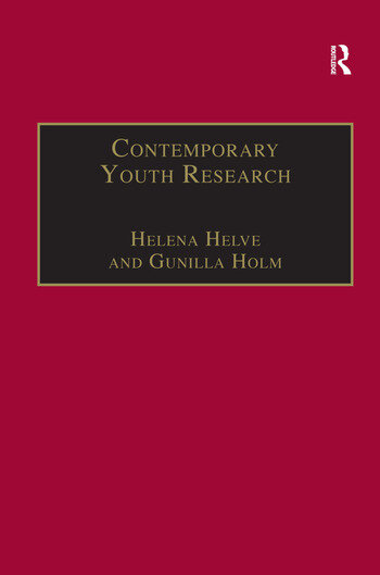 Contemporary Youth Research Local Expressions and Global Connections book cover