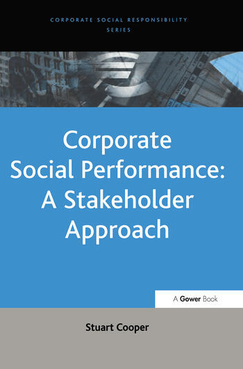 Corporate Social Performance: A Stakeholder Approach book cover
