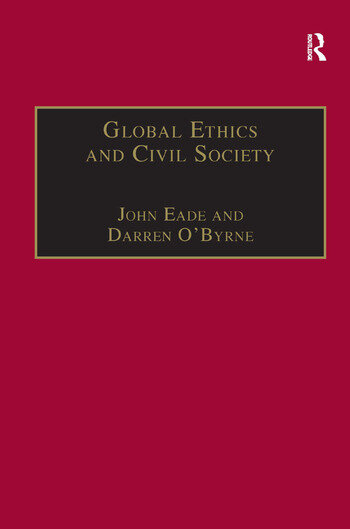 Global Ethics and Civil Society book cover