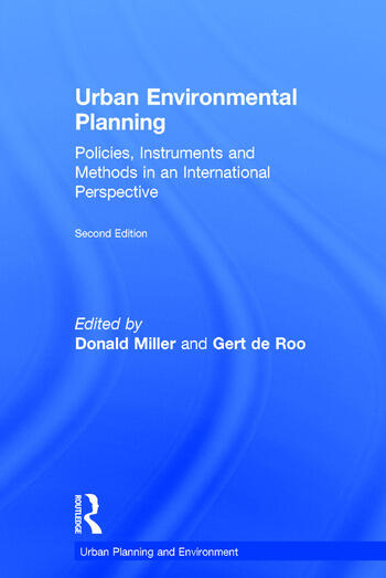 Urban Environmental Planning Policies, Instruments and Methods in an International Perspective book cover