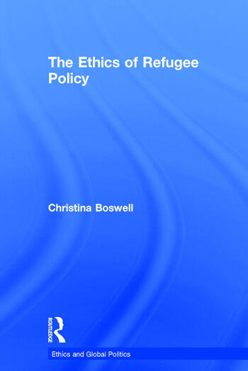 The Ethics of Refugee Policy book cover