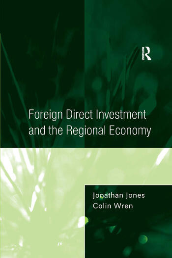 Foreign Direct Investment and the Regional Economy book cover
