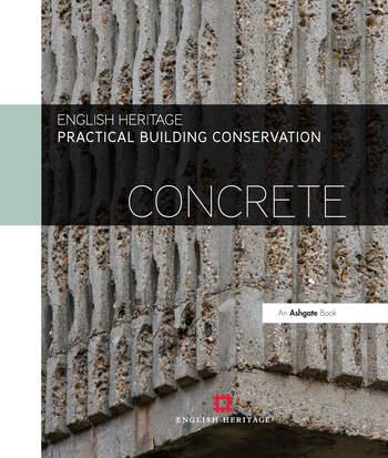 Practical Building Conservation: Concrete book cover