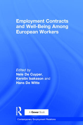 Employment Contracts and Well-Being Among European Workers book cover