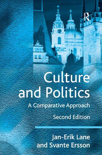 Culture and Politics A Comparative Approach book cover