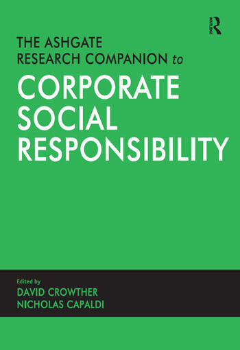 The Ashgate Research Companion to Corporate Social Responsibility book cover
