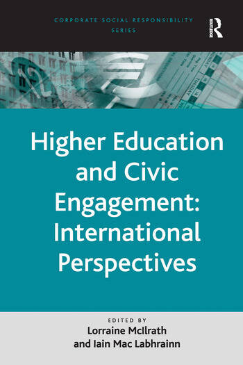 Higher Education and Civic Engagement: International Perspectives book cover