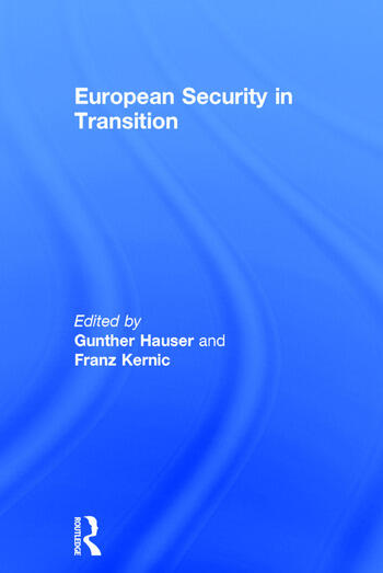 European Security in Transition book cover