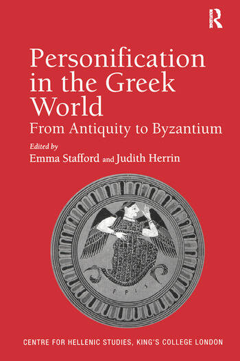 Personification in the Greek World From Antiquity to Byzantium book cover