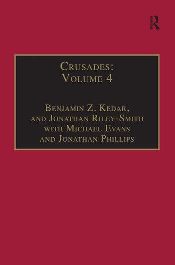 Crusades Volume 4 book cover