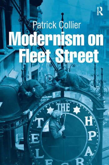 Modernism on Fleet Street book cover