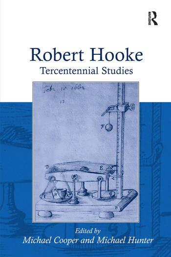Robert Hooke Tercentennial Studies book cover
