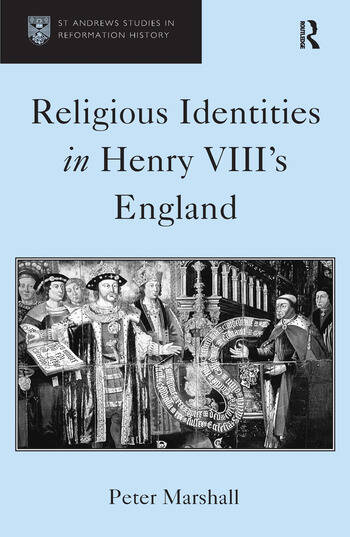 Religious Identities in Henry VIII's England book cover