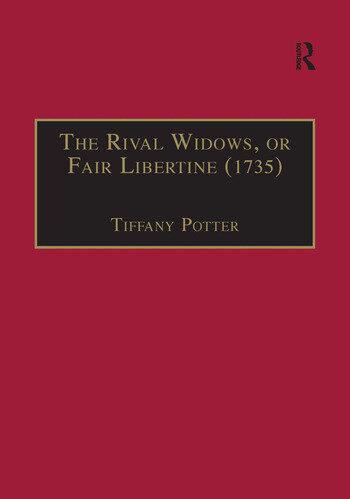 The Rival Widows, or Fair Libertine (1735) book cover
