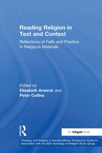 Reading Religion in Text and Context Reflections of Faith and Practice in Religious Materials book cover