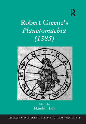 Robert Greene's Planetomachia (1585) book cover