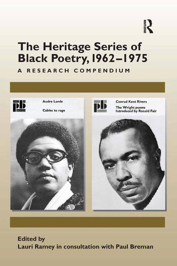 The Heritage Series of Black Poetry, 1962–1975 A Research Compendium book cover