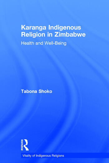 Karanga Indigenous Religion in Zimbabwe Health and Well-Being book cover
