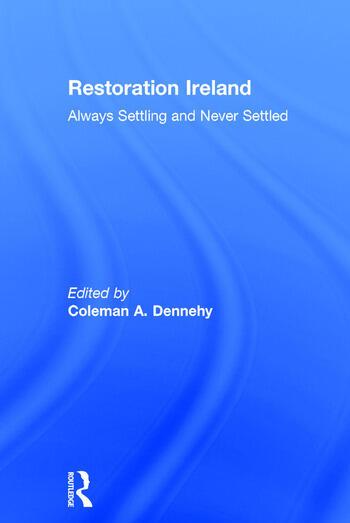 Restoration Ireland Always Settling and Never Settled book cover