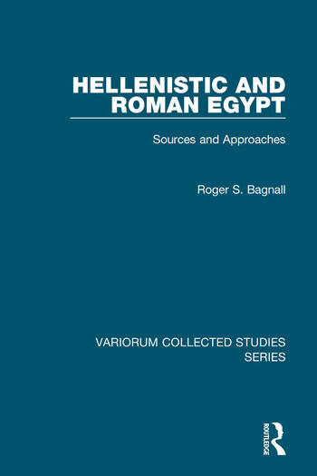 Hellenistic and Roman Egypt Sources and Approaches book cover