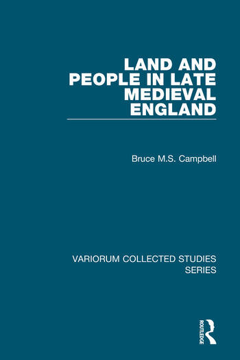 Land and People in Late Medieval England book cover