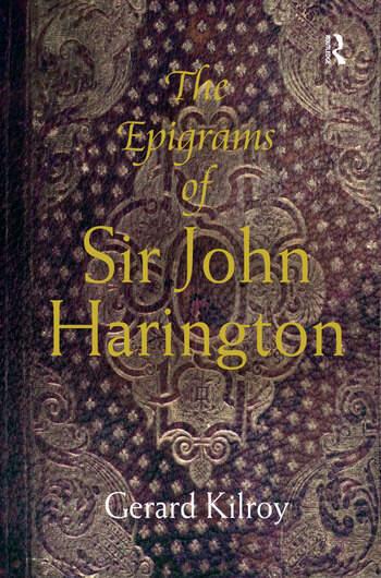 The Epigrams of Sir John Harington book cover