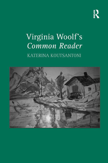 Virginia Woolf's Common Reader book cover