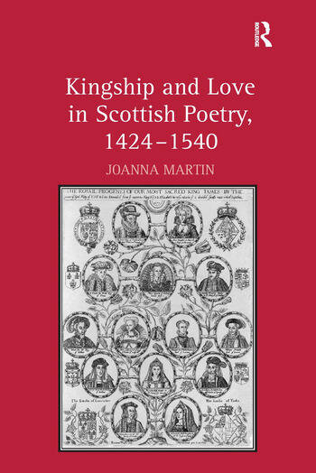 Kingship and Love in Scottish Poetry, 1424–1540 book cover