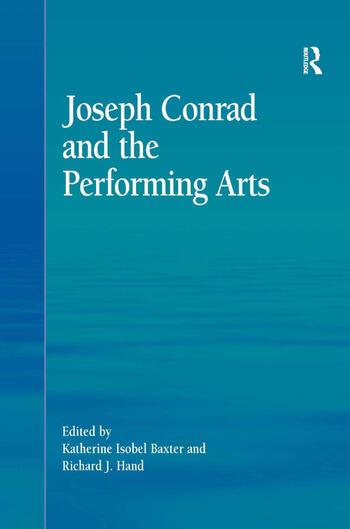Joseph Conrad and the Performing Arts book cover