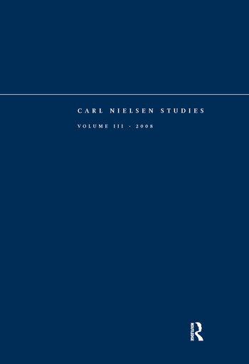 Carl Nielsen Studies Volume 3 book cover