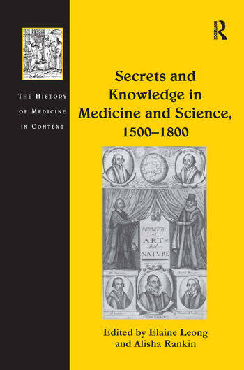 Secrets and Knowledge in Medicine and Science, 1500–1800 book cover