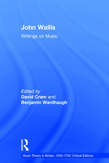 John Wallis: Writings on Music book cover