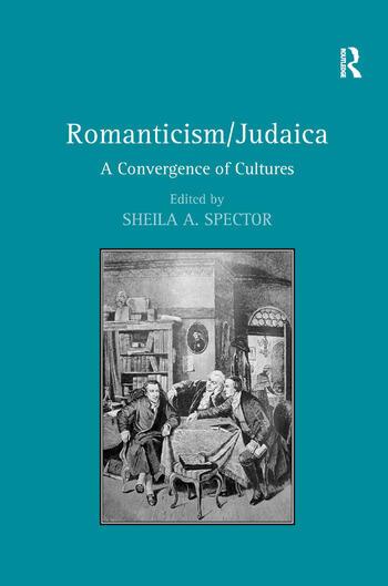 Romanticism/Judaica A Convergence of Cultures book cover