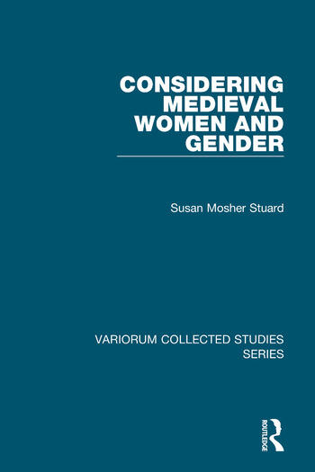 Considering Medieval Women and Gender book cover