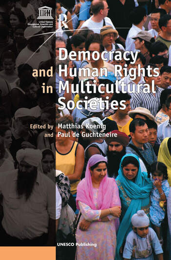 Democracy and Human Rights in Multicultural Societies book cover