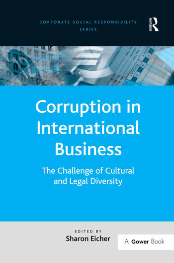 Corruption in International Business The Challenge of Cultural and Legal Diversity book cover