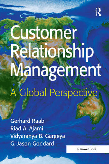 Customer Relationship Management A Global Perspective book cover