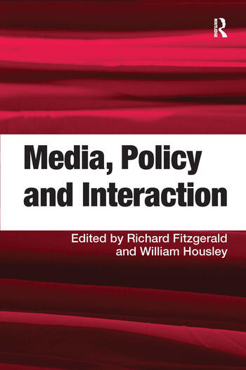 Media, Policy and Interaction book cover