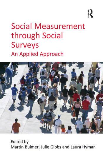 Social Measurement through Social Surveys An Applied Approach book cover