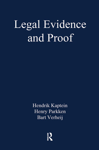 Legal Evidence and Proof Statistics, Stories, Logic book cover
