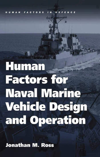 Human Factors for Naval Marine Vehicle Design and Operation book cover
