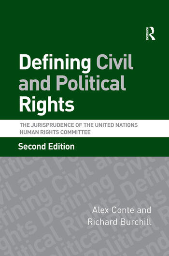 Defining Civil and Political Rights The Jurisprudence of the United Nations Human Rights Committee book cover