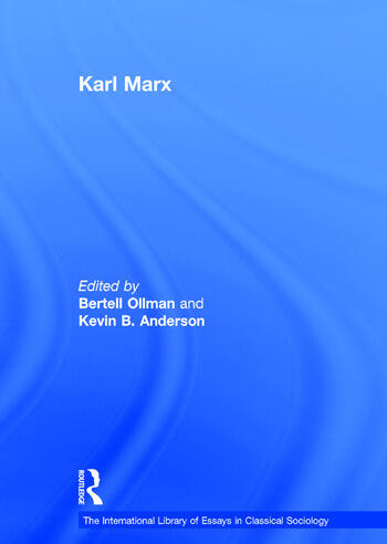 Karl Marx book cover